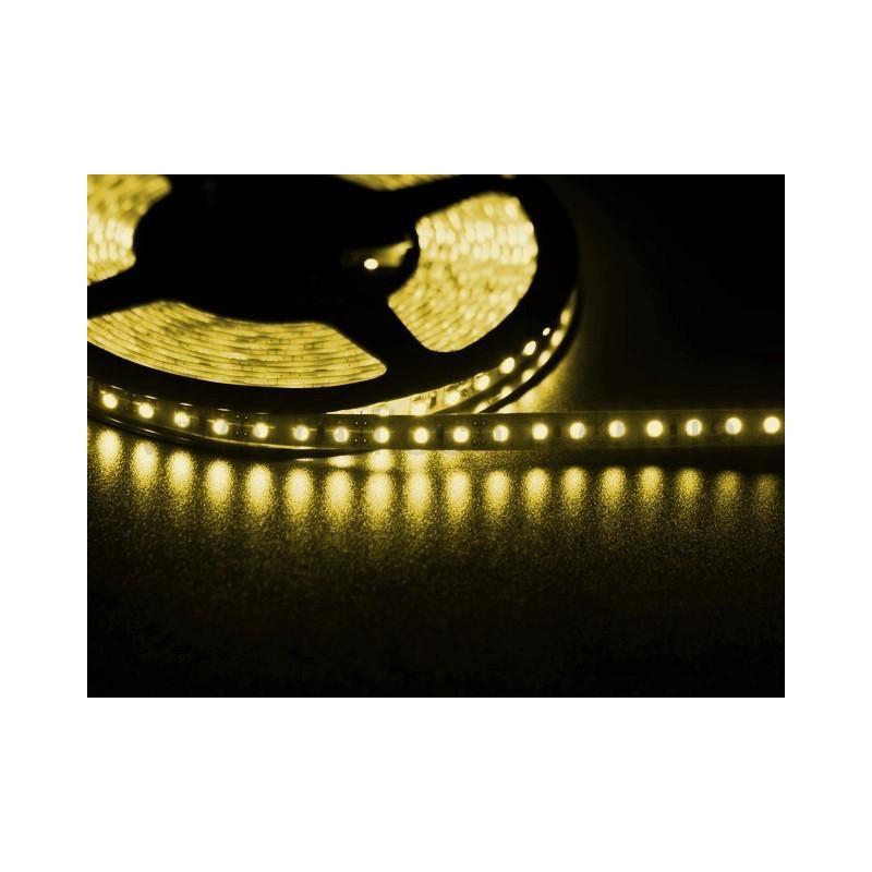 лента светодиодная 3528/120-12-Y 12в, 120шт/м, 9,6вт/м, желтый
