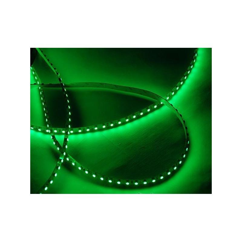 лента светодиодная 3528/120-12-G зеленый, 12в, 120шт/м, 9,6вт/м