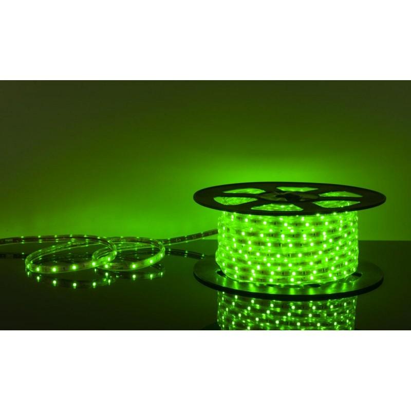 лента светодиодная 5050/30-12-G (IP65) зеленый, 12в, 7.2вт/м, 30шт/м