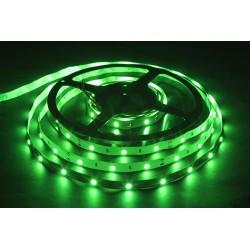 лента светодиодная 5050/30-12-G/зеленый, 12в, 7.2вт/м, 30шт/м