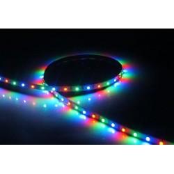 лента светодиодная 5050/30-12-RGB/12в, 7.2вт/м, 30шт/м, RGB