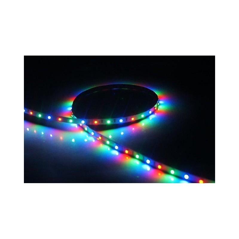 лента светодиодная 5050/30-12-RGB 12в, 7.2вт/м, 30шт/м, RGB