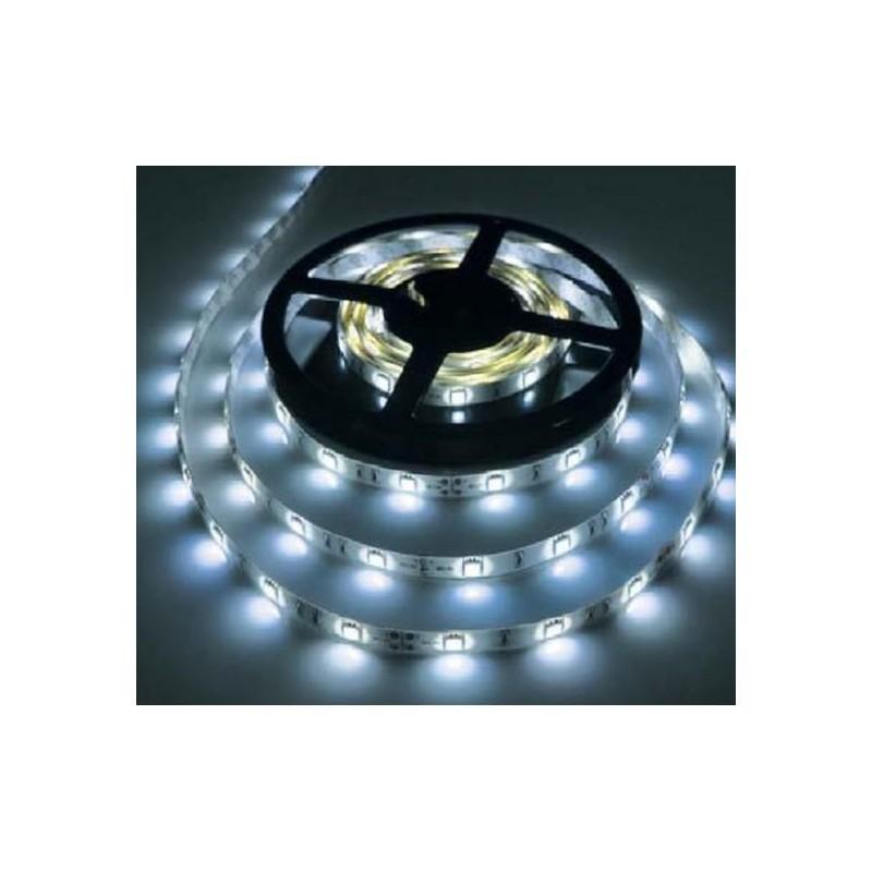 лента светодиодная 5050/30-12-W (IP65) 12в, 7.2вт/м, 30шт/м, белый холодный