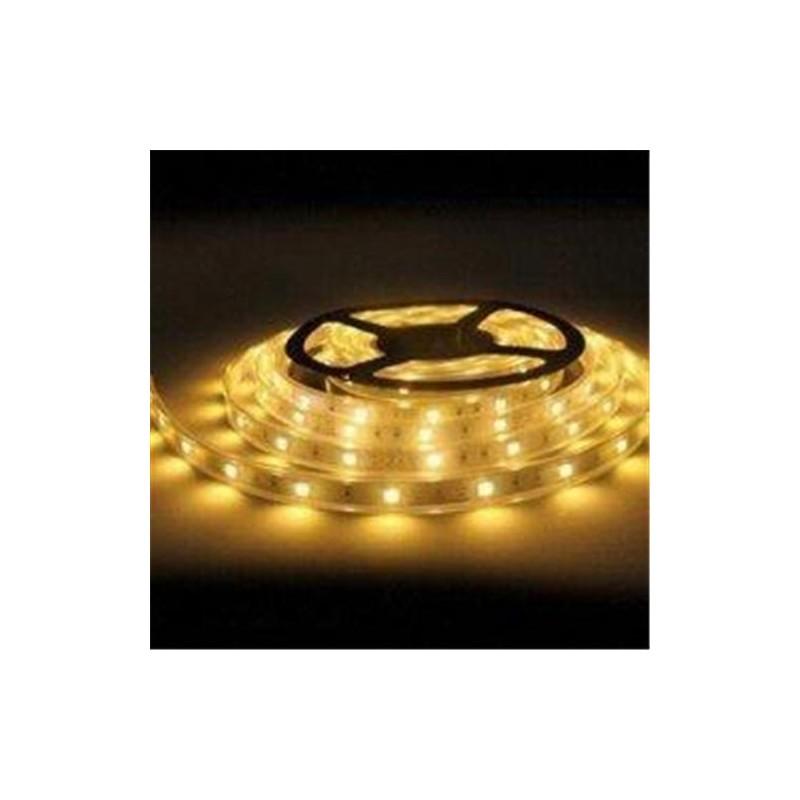 лента светодиодная 5050/30-12-WW (IP65) 12в, 7.2вт/м, 30шт/м, белый теплый