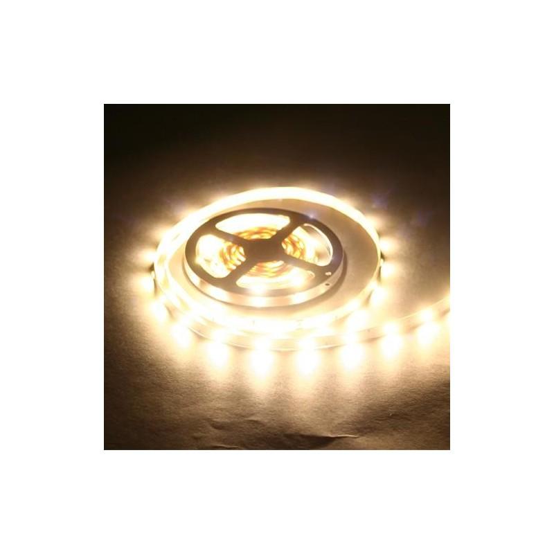 лента светодиодная 5050/30-12-WW 12в, 7.2вт/м, 30шт/м, белый теплый