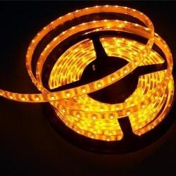 лента светодиодная 5050/60-12-Y (IP65)/12в, 14.4вт/м, 60шт/м, желтый