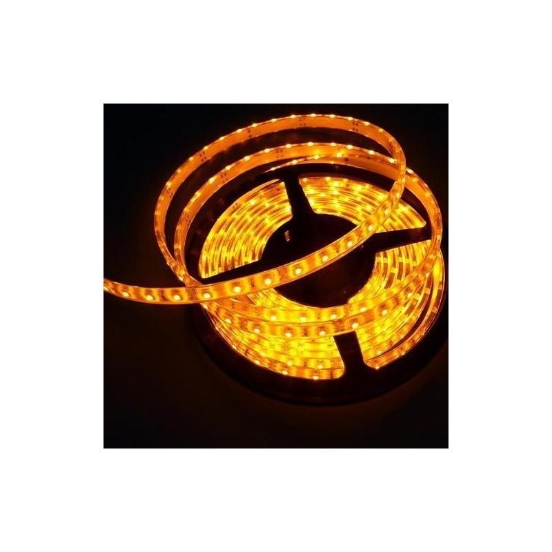 лента светодиодная 5050/60-12-Y (IP65) 12в, 14.4вт/м, 60шт/м, желтый