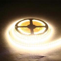 лента светодиодная 3528/120-12-WW/12в, 9.6вт/м, 120шт/м, белый теплый