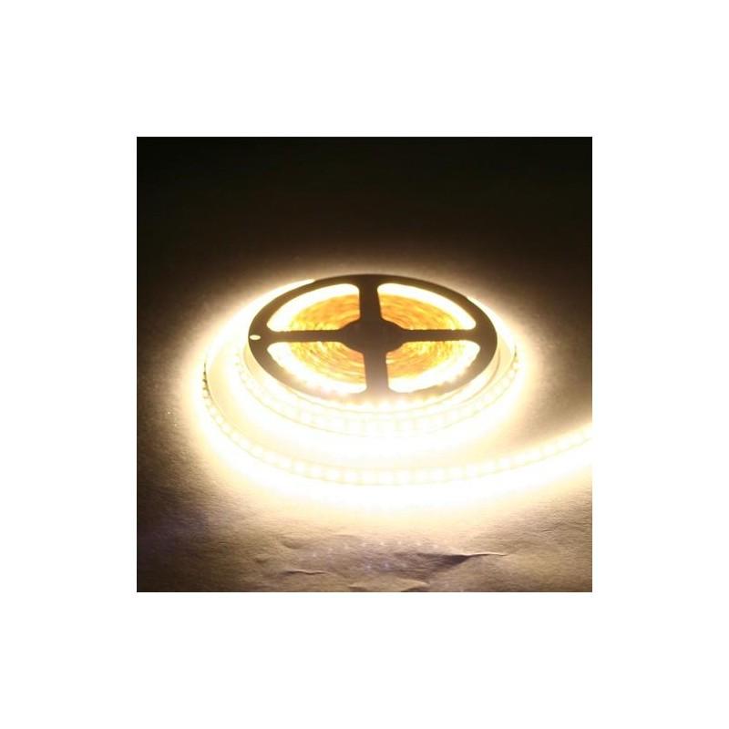 лента светодиодная 3528/120-12-WW 12в, 9.6вт/м, 120шт/м, белый теплый