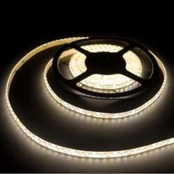 лента светодиодная 3528/120-12-WW (IP65)/12в, 9.6вт/м, 120шт/м, белый теплый