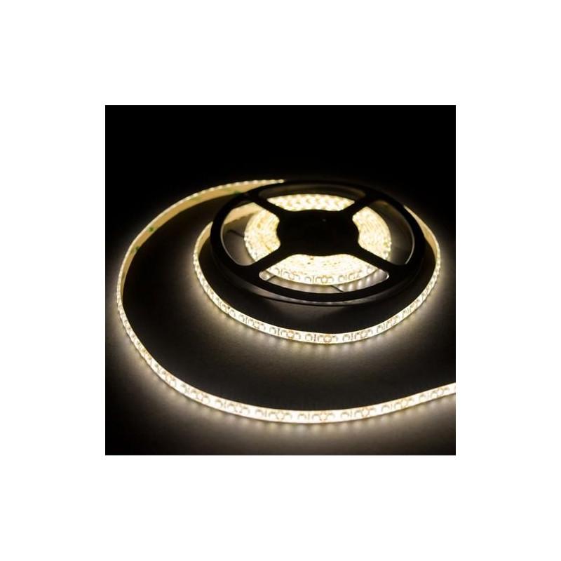 лента светодиодная 3528/120-12-WW (IP65) 12в, 9.6вт/м, 120шт/м, белый теплый