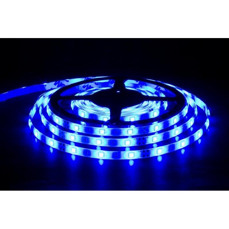 лента светодиодная 5050/30-12-B 12в, 7.2вт/м, 30шт/м, синий