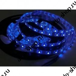 лента светодиодная 5050/60-12-B (IP65)/12в, 14.4вт/м, 60шт/м, синий