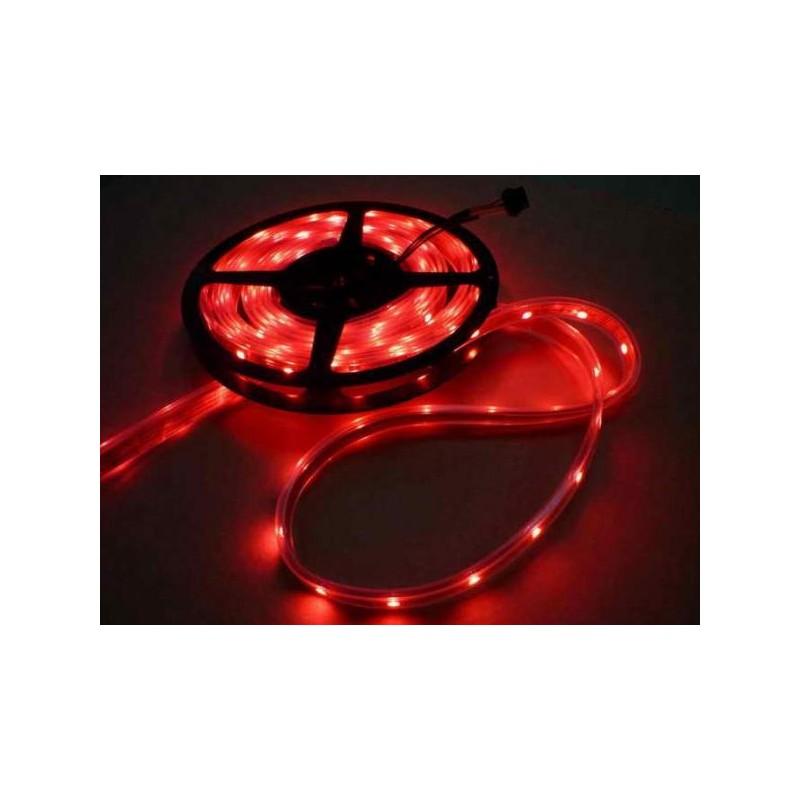 лента светодиодная 5050/30-12-R (IP65) 12в, 7.2вт/м, 30шт/м, красный
