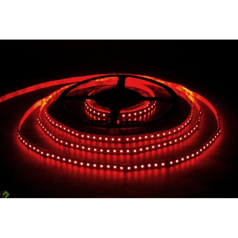 лента светодиодная 3528/120-12-R 12в, 9,6вт/м, 120шт/м, красный
