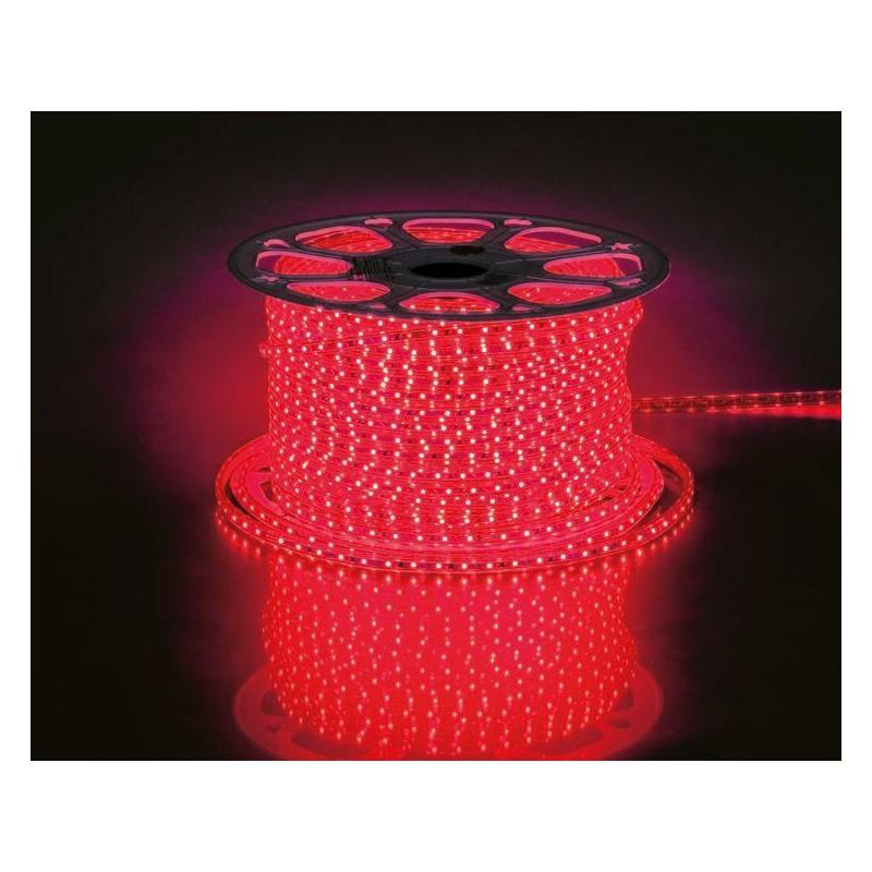 лента светодиодная 3528/60-12-R (IP68) 12в, 4.8вт/м, 60шт/м, красный