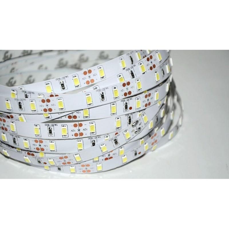 лента светодиодная 5630/60-12-WW-ECO 12в, 14.4вт/м, 60шт/м, белый теплый