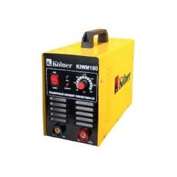 Сварочный аппарат Kolner KIWM 180i 6,1кВт, 20-180А, инверторный (IGBT), электроды 1,6-4мм