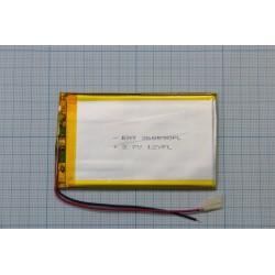 АКБ для  планшетов универсальный Li-Pol 3,6x55x90мм 3,7v 2000mAh