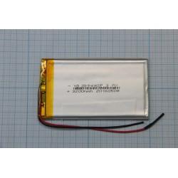 АКБ для  планшетов универсальный Li-Pol 3,5x54x90мм 3,7v 3200 mAh