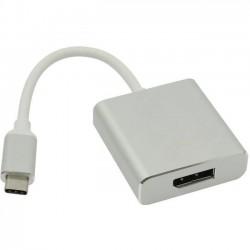 Переходник USB Type-C (M) - DisplayPort (F) VCOM CU422M 0.15м