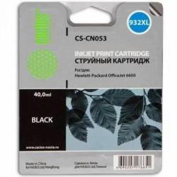 Картридж струйный Cactus CS-CN053 №932 для HP DJ 6600 Black