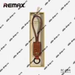 USB кабель Lightning REMAX Western RC-034i для iPhone 6/6 Plus (0.3m) brown