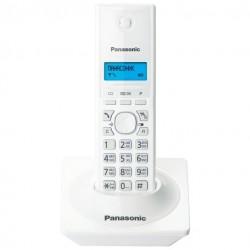 Радиотелефон Panasonic KX-TG1711 RUW,белый 1трубка/50м/300м/АОН/книга 50номеров/-/-/-/15-170ч/550мАч