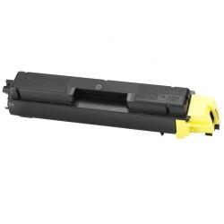 Картридж лазерный Kyocera TK-590Y для FS C2026MFP C2126MFP C2526MFP 7000 стр. Yellow