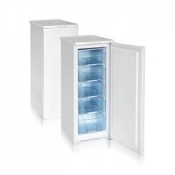 Морозильник Бирюса 114 White, 1 камера, 130л, 122х48х60, класс A, ручная разморозка