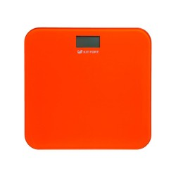 Весы Kitfort КТ-804-5 Orange стекло, точность 0,1кг, макс. 150кг, авто вкл/выкл