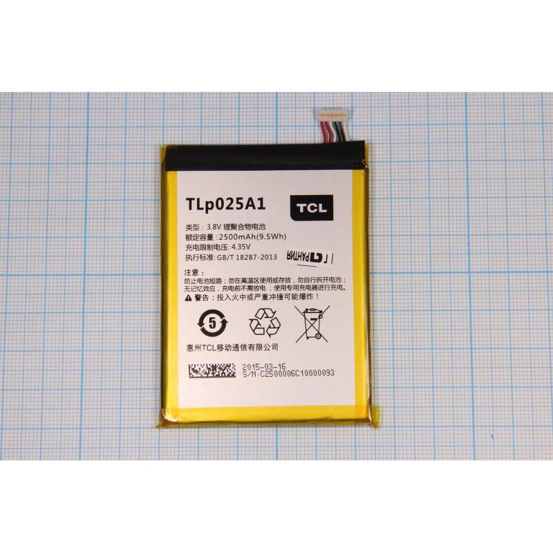 АКБ Alcatel TLp025A1 (OT-7043Y) 3,8V 2500mAh