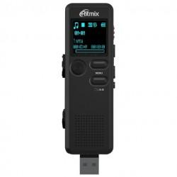 Диктофон Ritmix RR-610 8Gb/microSD 20ч,USB2.0,формат записи-WMA,MP3