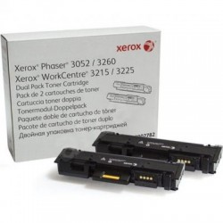 Картридж лазерный Xerox 106R02782 для Phaser 3052/3260/WC 3215/25 Black (2 шт * 3000 стр)