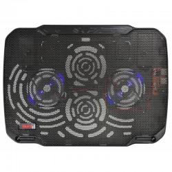 """Охлаждение для ноутбука до 15.6"""" Buro BU-LCP156-B208 Black 2xUSB 2x80мм FAN"""