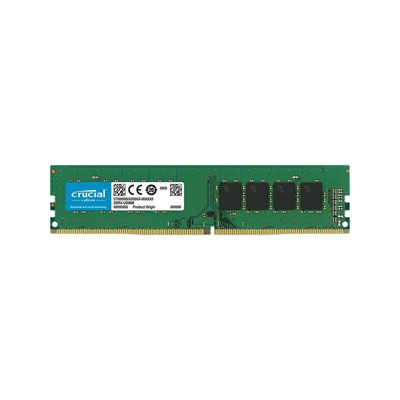 Модуль DIMM DDR4 4096Mb PC19200 2400MHz Crucial CT4G4DFS824A