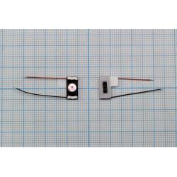 Динамик универсальный 10мм*5мм с проводами