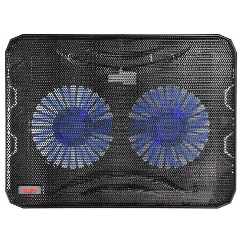 """Охлаждение для ноутбука до 15.6"""" Buro BU-LCP156-B214 Black"""