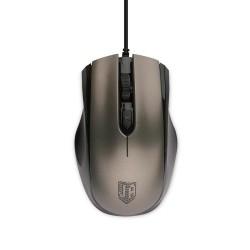 Мышь USB Jet.A Comfort OM-U50 оптическая, 1600dpi, кабель 1.3м, Grey