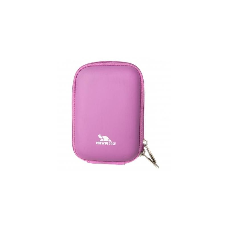 Чехол RIVA 7022 (PU) Digital Case pink (8.80х2.70х5.70 см)