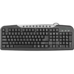Клавиатура USB Defender HM-830 мембранная, 114 клавиш, Black
