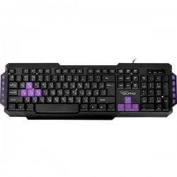 Игровая клавиатура USB Qumo Desert Eagle Pro мембранная, 104 +10 клавиш, кабель 1.5м, Black