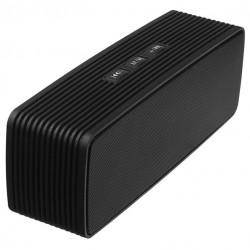Портативная акустика Ginzzu GM-875B 6Вт, Bluetooth, FM, microSD/USB, AUX, питание от батарей, Black