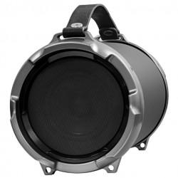 Портативная акустика Ginzzu GM-886B 18Вт,  Bluetooth, FM, SD/USB, AUX, сабвуфер, Black