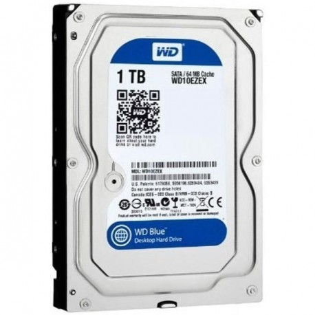 Жесткий диск HDD SATA-III 1,0Tb WD WD10EZEX Blue,7200,64Mb
