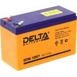 Аккумулятор Delta DTM 1207 (12В,7,2А)