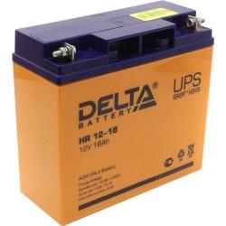 Аккумулятор Delta HR12-18 (12V,18A)