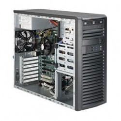 Supermicro SuperWorkstation Mid-Tower 5039A-iL CPU(1) E3-1200v5/ noHS/ no memory(4)/ on board RAID 0/1/5/10/ internalHDD(4)LFF/ 2xGE/ 6xFH/ 1x500W Gold/ no Backplane