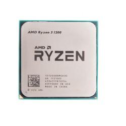 Процессор AMD AM4 Ryzen 3 1200 (4ядра/4потока*3,1ГГц-3,4ГГц,10Мб,65Вт,oem)