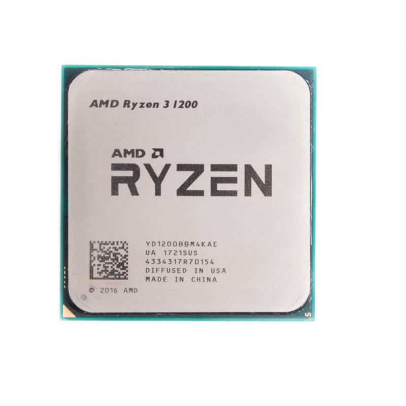 Процессор AMD Sock AM4 Ryzen 3 1200 (4ядра/4потоков*3,1GHz,10Mb,65Вт) oem